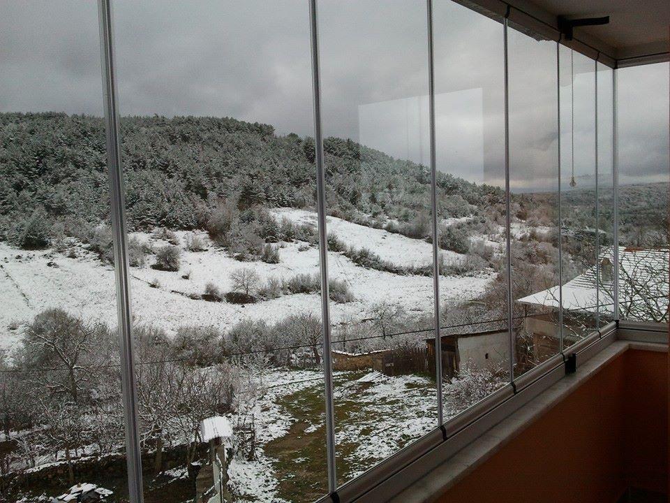 katlanır cam balkon sistemi